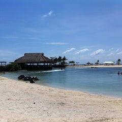 Photo taken at Bluewater Maribago Beach Resort by Lhet V. on 2/3/2013