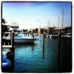 Photo taken at Bimini Boatyard Bar & Grill by Jonathan B. on 11/24/2012