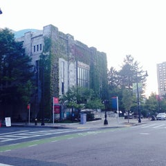 Photo taken at Boston University Morse Auditorium (BU Morse) by Lama A. on 8/8/2014