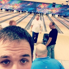 Photo taken at Brunswick Zone - Lowell by Ken S. on 12/16/2012