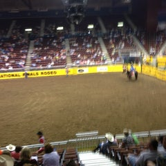 Photo taken at Casper Events Center by Rick R. on 6/9/2013
