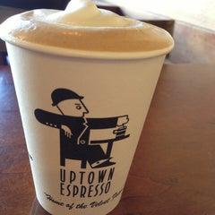 Photo taken at Uptown Espresso by Cheryl C. on 5/8/2013