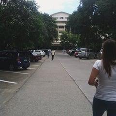 Photo taken at Southwestern University by Pinky L. on 9/11/2014