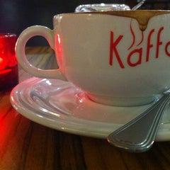 Photo taken at Kaffa Kafe by Yong Yao on 10/6/2012