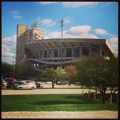Photo taken at Memorial Stadium by Tom H. on 4/21/2013