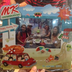 Photo taken at MK (เอ็มเค) by mayyy &. on 4/14/2015