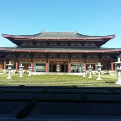 Photo taken at Fo Guang Shan Temple   北岛佛光山 by Cindy U. on 1/13/2015