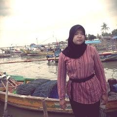 Photo taken at Pantai tanjung kait by Ucu S. on 1/5/2014