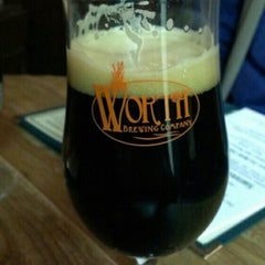 Photo taken at Worth Brewing Company by Carl K. on 11/29/2013