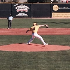 Photo taken at Earl E. Wilson Baseball Stadium by Linda A. on 2/16/2014