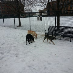 Photo taken at Churchill Field Dog Park by Nick R. on 2/9/2015