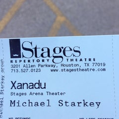 Photo taken at Stages Repertory Theater by Rich ♊️ . on 5/29/2014