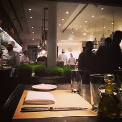 Photo taken at Mercer Kitchen by Niels G. on 1/16/2013
