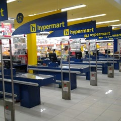 Photo taken at hypermart by Wahuniq R. on 10/4/2012