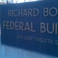 Photo taken at Richard Bolling Federal Building by Michael C. on 1/29/2014