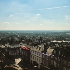 Photo taken at St Albans Clock Tower by Pavel S. on 4/6/2015