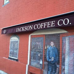 Photo taken at Jackson Coffee Co. by Maury P. on 1/21/2014