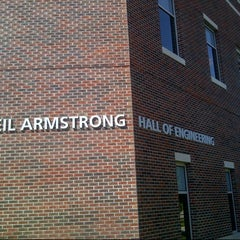 Photo taken at Neil Armstrong Hall Of Engineering (ARMS) by Stephen H. on 7/25/2013