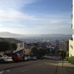 Photo taken at Fillmore Stairs by Orsolya F. on 5/16/2013