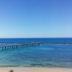 Photo taken at Port Noarlunga Beach by Vicente F. on 2/10/2014
