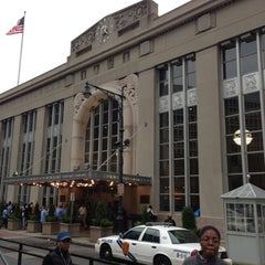 Photo taken at Newark Penn Station by Joanna B. on 10/26/2012