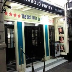 Photo taken at Harold Pinter Theatre by Katalin E. on 2/28/2012