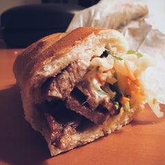 Photo taken at Hanco's Bubble Tea & Vietnamese Sandwich by Adithya P. on 2/13/2015