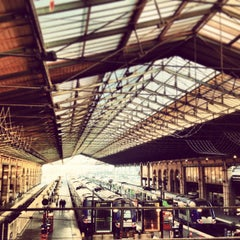 Photo taken at Gare SNCF de Paris Nord by Elizabeth S. on 2/19/2013