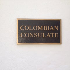 Photo taken at Colombian Consulate by Edwin G. on 6/20/2014