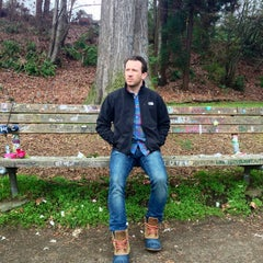 Photo taken at Kurt Cobain's House by Justin & Suzanne on 2/11/2013
