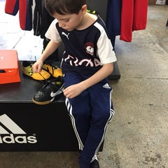 Photo taken at Upper 90 Soccer Store by Mark B. on 2/22/2015