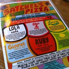 Photo taken at Satchel's Pizza by Ricky C. on 5/25/2013