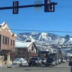 Photo taken at Steamboat Smokehouse by Ryan B. on 1/24/2014