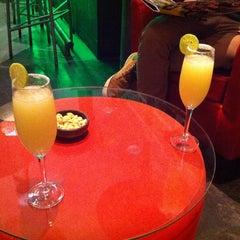 Photo taken at Alberto Restobar & Lounge by Diego V. on 6/10/2014