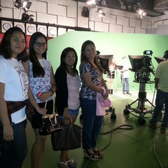Photo taken at People's Television Network, Inc. by Ria 리야 A. on 6/20/2014
