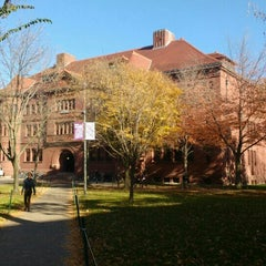 Photo taken at Sever Hall by Kit K. on 11/4/2015