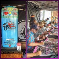 Photo taken at Jack's Surfboards by Jason L. on 8/1/2015