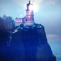 Photo taken at Split Rock Lighthouse by Nate A. on 10/10/2012