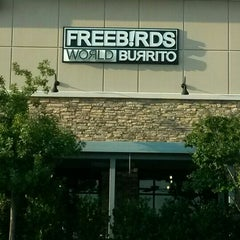 Photo taken at Freebirds World Burrito by Marcos H. on 9/22/2015