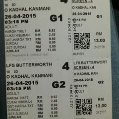 Photo taken at Lotus Five Star Cinemas (LFS) by Ashiwani R. on 4/26/2015