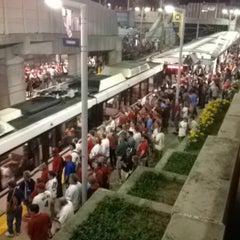 Photo taken at MetroLink - Stadium Station by Dolemite on 6/14/2014