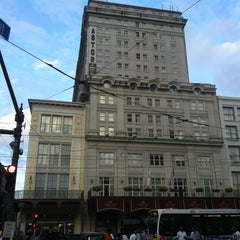 Photo taken at Astor Crowne Plaza – New Orleans French Quarter by Jason G. on 11/11/2012
