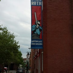 Photo taken at Babe Ruth Birthplace & Museum by Erin P. on 5/10/2014