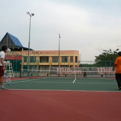 Photo taken at Court Tenis MPHTJ by Mohd M. on 7/8/2013