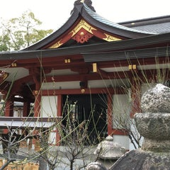 Photo taken at 綱敷天満神社 by Hideo D. on 3/13/2016