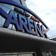 Photo taken at Mall of Asia Arena by Brenden B. on 5/8/2013