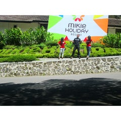 Photo taken at Mikie Holiday Resort & Hotel by Fransisca _. on 2/13/2015