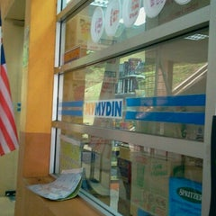 Photo taken at MyMydin UiTM by Anum A. on 9/23/2012