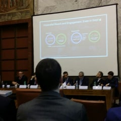 Photo taken at Ministero dello Sviluppo Economico by Gianluca S. on 3/19/2015