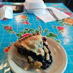 Photo taken at Texan Cafe & Pie Shop by Bill S. on 8/1/2014